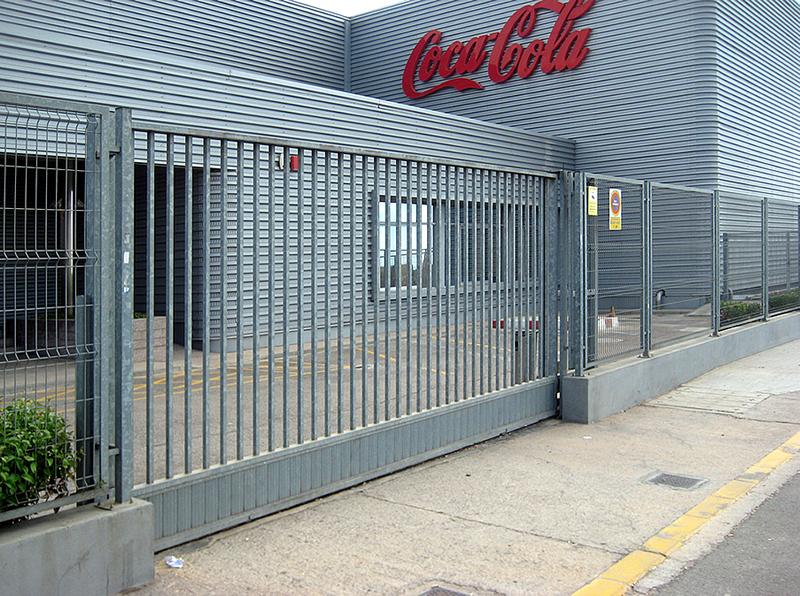 Cercados metalicos valencia enrejados metalicos for Puertas corredizas metalicas